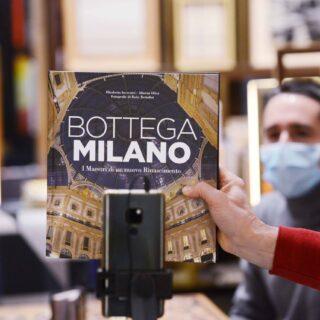 Presentazione del libro BOTTEGA MILANO all'interno della Libreria Bocca in Galleria FOTO ROBY BETTOLINI