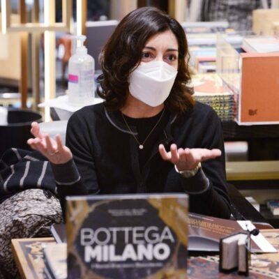Milano 7 dicembre 2020. Presentazione del libro BOTTEGA MILANO. Con Assessora Tajani