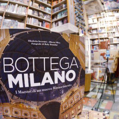 Milano 7 dicembre 2020. Presentazione del libro BOTTEGA MILANO all'interno della Libreria Bocca in Galleria FOTO ROBY BETTOLINI